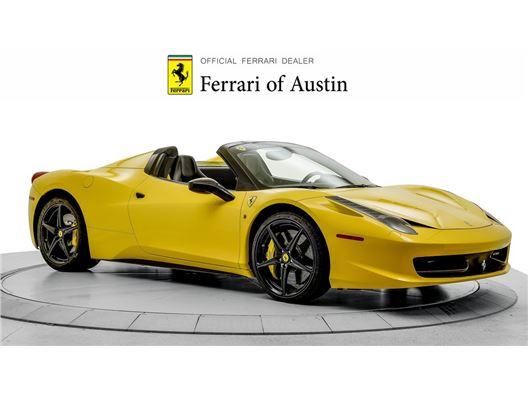 2013 Ferrari 458 Spider for sale in San Antonio, Texas 78257