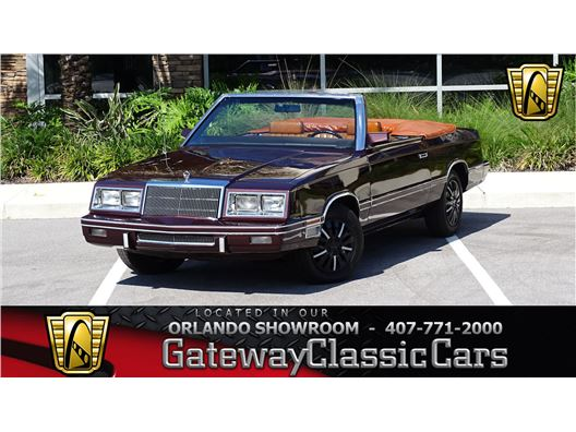 1982 Chrysler LeBaron for sale in Lake Mary, Florida 32746