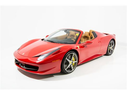 2015 Ferrari 458 Spider for sale in Norwood, Massachusetts 02062