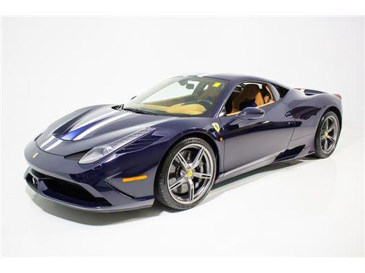 2015 Ferrari 458 Speciale for sale in Norwood, Massachusetts 02062