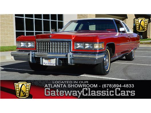 1976 Cadillac Coupe deVille for sale in Alpharetta, Georgia 30005