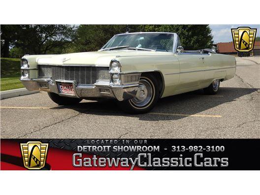 1965 Cadillac DeVille for sale in Dearborn, Michigan 48120