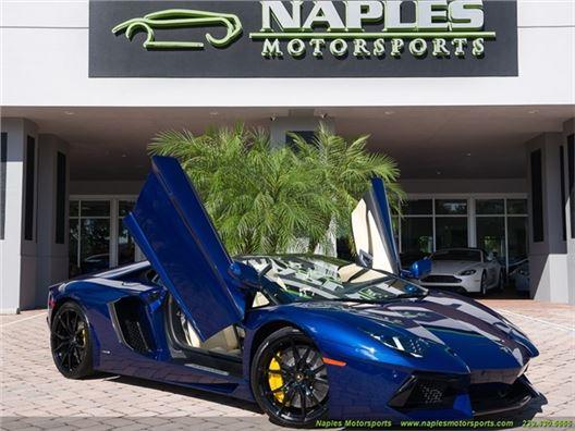 2013 Lamborghini Aventador LP 700-4 for sale in Naples, Florida 34104