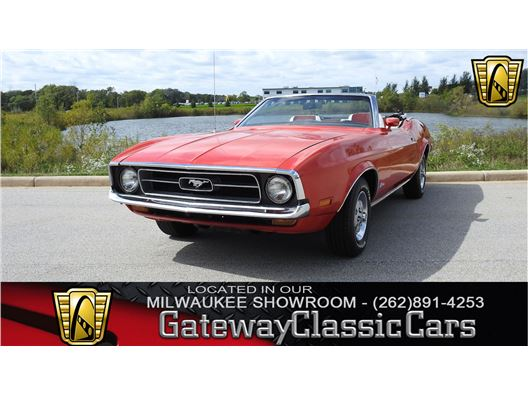 1972 Ford Mustang for sale in Kenosha, Wisconsin 53144