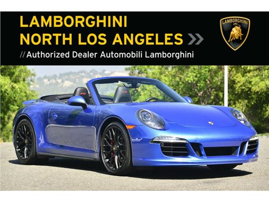 2015 Porsche 911 GTS CABRIOLET for sale in Calabasas, California 91302