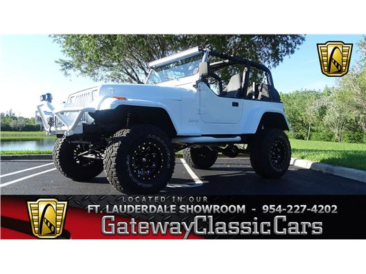 1995 Jeep Wrangler for sale in Coral Springs, Florida 33065