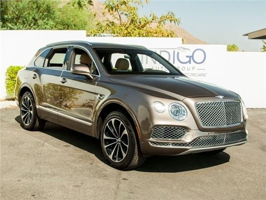 2017 Bentley Bentayga for sale in Rancho Mirage, California 92270