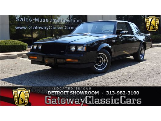 1987 Buick Grand National for sale in Dearborn, Michigan 48120