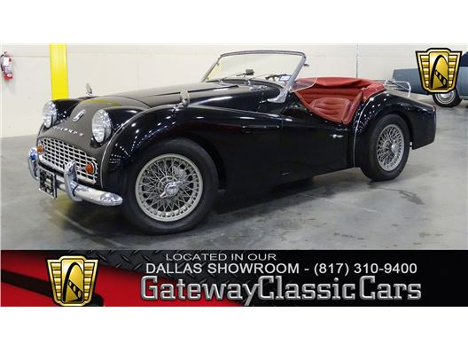 1958 Triumph TR3 for sale in DFW Airport, Texas 76051