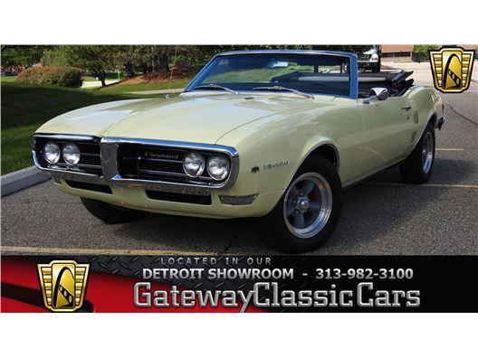 1968 Pontiac Firebird for sale in Dearborn, Michigan 48120