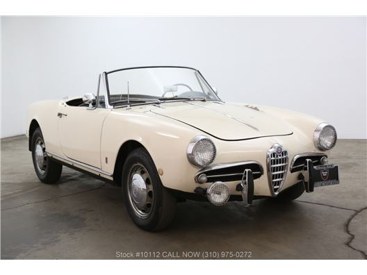 1961 Alfa Romeo Giulietta Spider for sale in Los Angeles, California 90063
