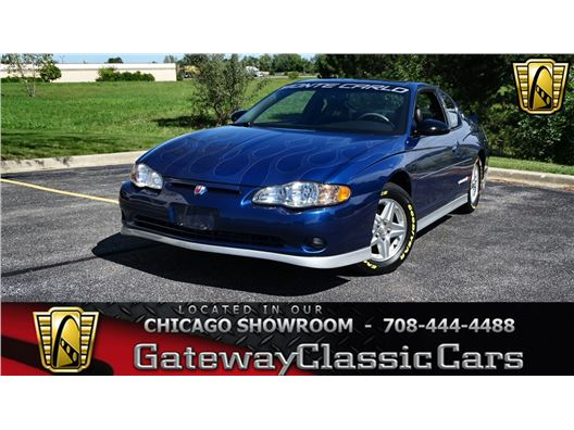 2003 Chevrolet Monte Carlo for sale in Crete, Illinois 60417