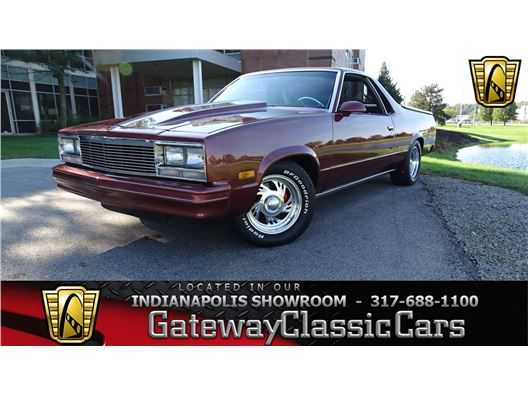 1986 Chevrolet El Camino for sale in Indianapolis, Indiana 46268