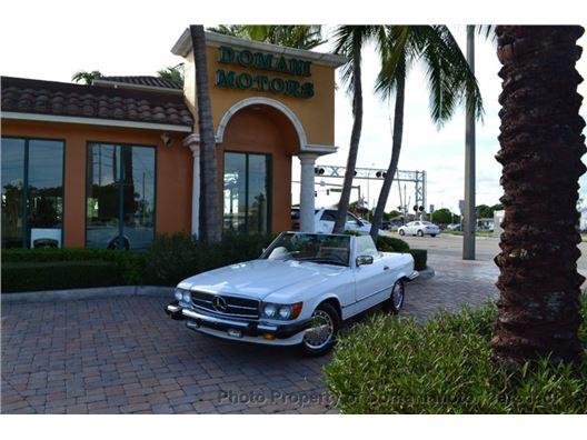 1989 Mercedes-Benz 560SL for sale in Deerfield Beach, Florida 33441