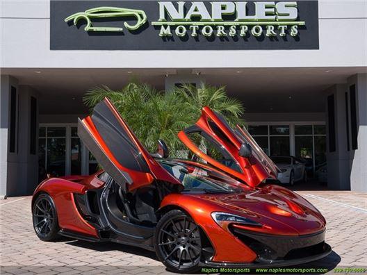 2015 McLaren P1 for sale in Naples, Florida 34104