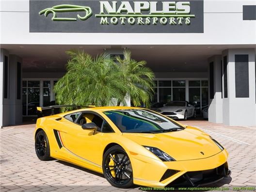 2014 Lamborghini Gallardo LP 570-4 Squadra Corse for sale in Naples, Florida 34104