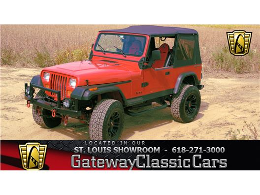1989 Jeep Wrangler for sale in OFallon, Illinois 62269