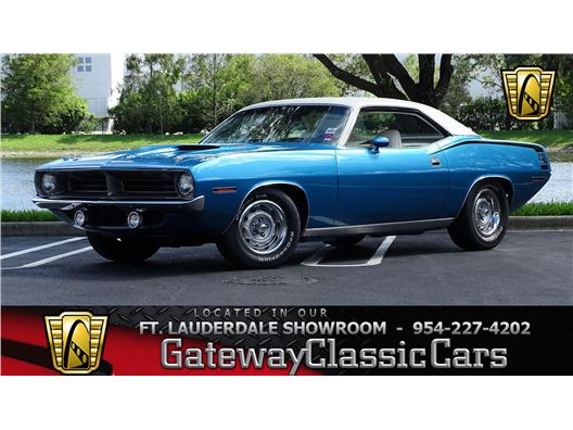 1970 Plymouth Cuda for sale in Coral Springs, Florida 33065