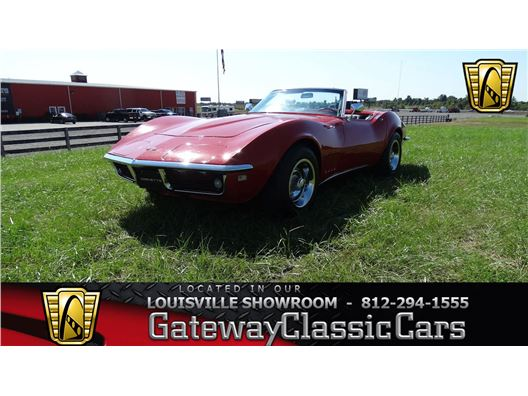 1968 Chevrolet Corvette for sale in Memphis, Indiana 47143