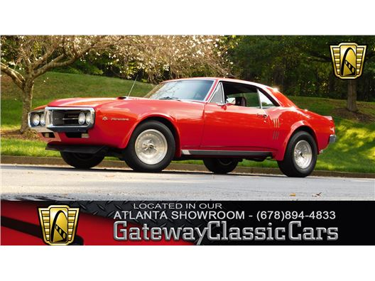 1967 Pontiac Firebird for sale in Alpharetta, Georgia 30005