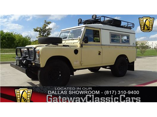 1983 Land Rover Defender 110 for sale in DFW Airport, Texas 76051