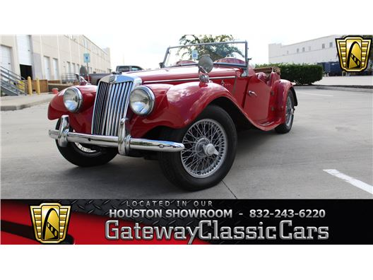 1954 MG TF for sale in Houston, Texas 77090