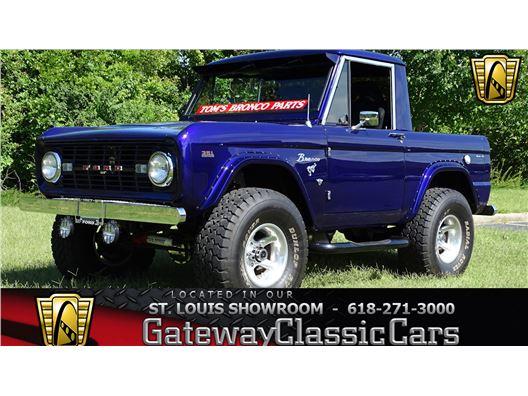 1967 Ford Bronco for sale in OFallon, Illinois 62269