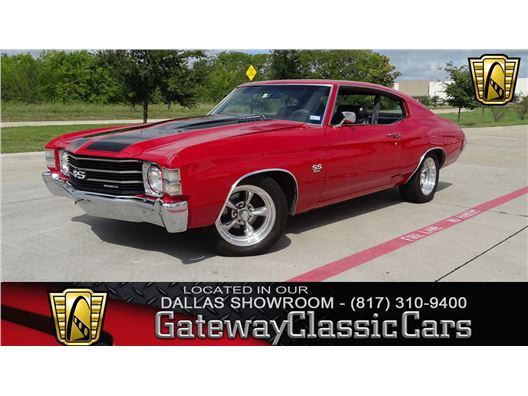 1972 Chevrolet Chevelle for sale in DFW Airport, Texas 76051