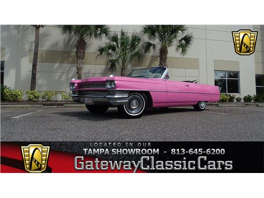 1964 Cadillac DeVille for sale in Ruskin, Florida 33570