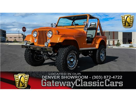 1980 Jeep CJ5 for sale in Englewood, Colorado 80112