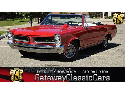 1965 Pontiac GTO for sale in Dearborn, Michigan 48120