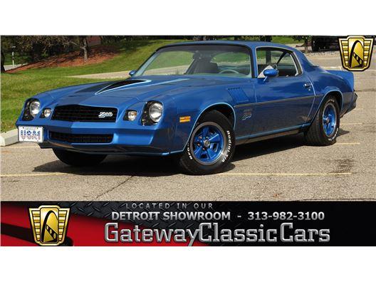 1978 Chevrolet Camaro for sale in Dearborn, Michigan 48120