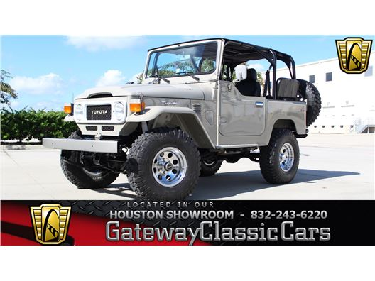 1980 Toyota Land Cruiser for sale in Houston, Texas 77090
