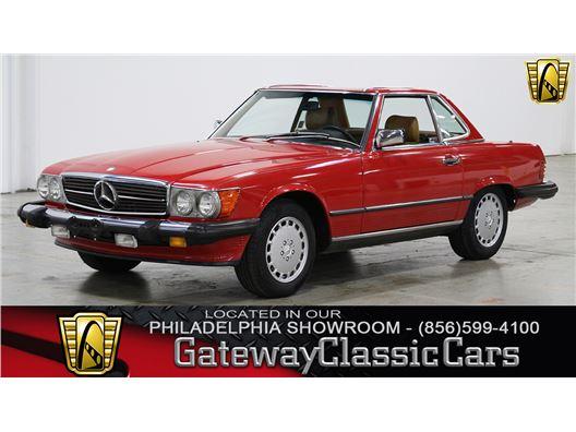 1989 Mercedes-Benz 560SL for sale in West Deptford, New Jersey 8066