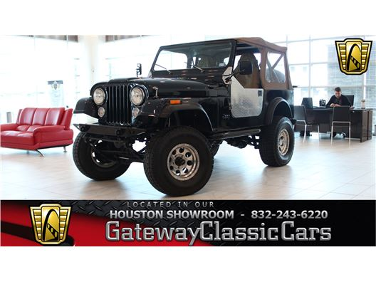 1982 Jeep CJ7 for sale in Houston, Texas 77090