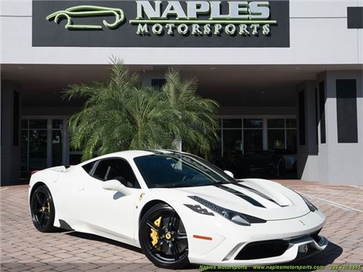 2014 Ferrari 458 Speciale for sale in Naples, Florida 34104