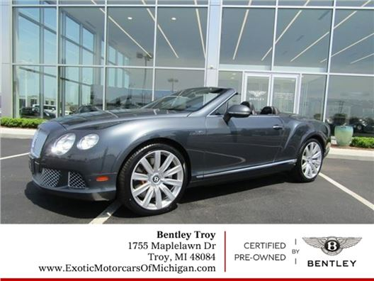 2013 Bentley Continental for sale in Troy, Michigan 48084