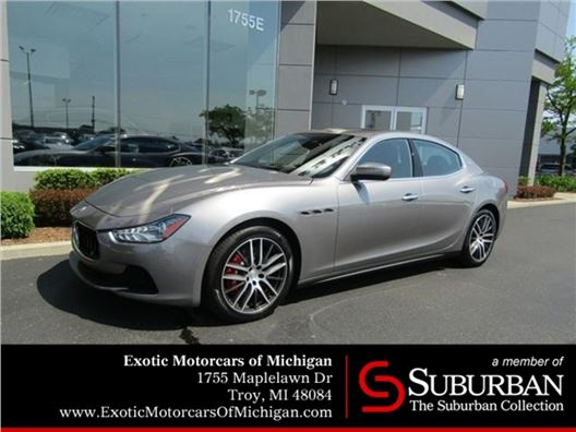 2017 Maserati Ghibli for sale in Troy, Michigan 48084