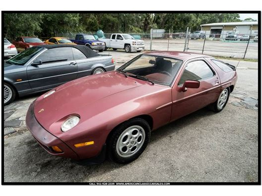 1982 Porsche 928 for sale in Sarasota, Florida 34232