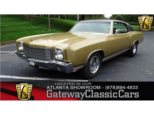 1970 Chevrolet Monte Carlo for sale in Alpharetta, Georgia 30005
