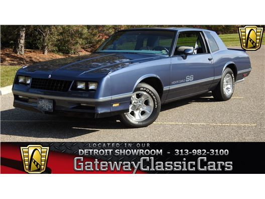 1984 Chevrolet Monte Carlo for sale in Dearborn, Michigan 48120