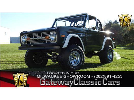 1973 Ford Bronco for sale in Kenosha, Wisconsin 53144