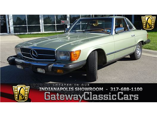 1978 Mercedes-Benz 450SL for sale in Indianapolis, Indiana 46268