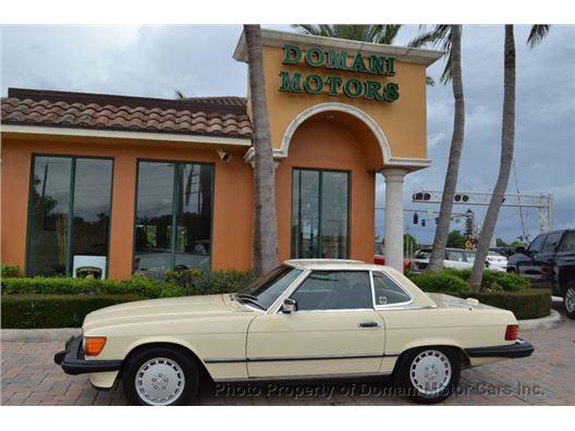 1988 Mercedes-Benz 560SL for sale in Deerfield Beach, Florida 33441