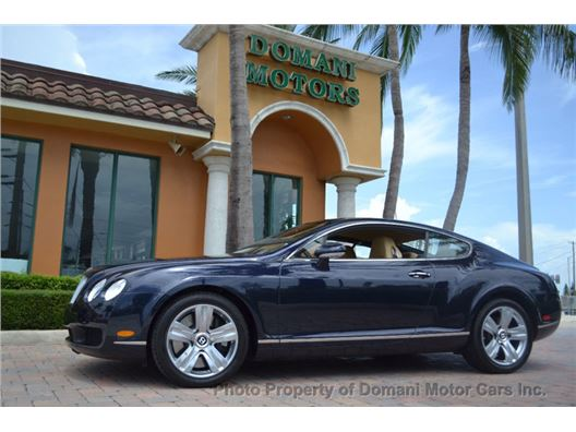 2007 Bentley Continental GT for sale in Deerfield Beach, Florida 33441