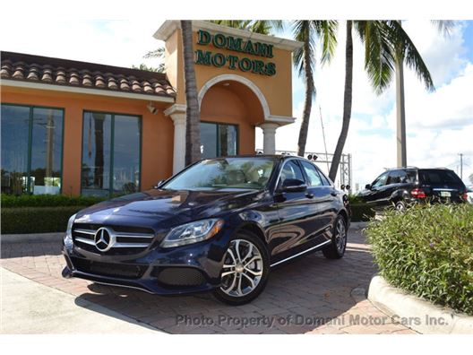 2015 Mercedes-Benz C-Class for sale in Deerfield Beach, Florida 33441