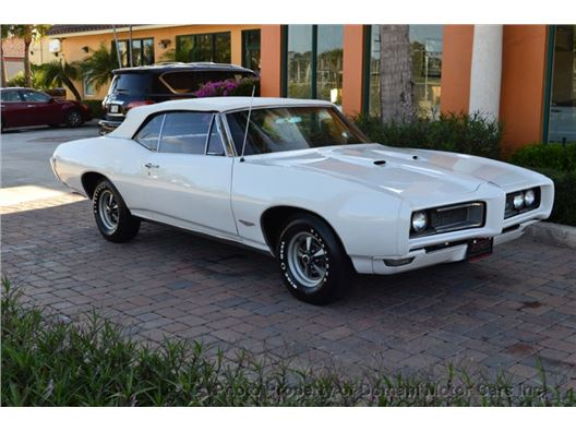 1968 Pontiac GTO Convertible for sale in Deerfield Beach, Florida 33441