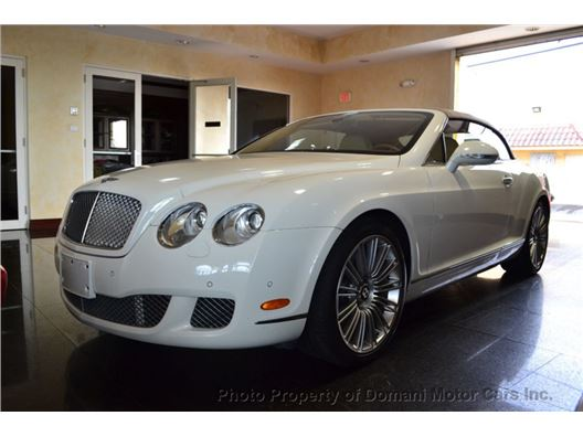 2010 Bentley Continental GT for sale in Deerfield Beach, Florida 33441