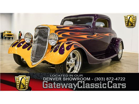 1934 Ford 3 Window for sale in Englewood, Colorado 80112