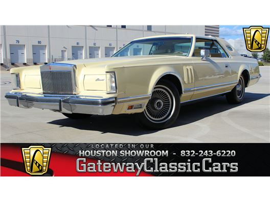 1978 Lincoln Mark V for sale in Houston, Texas 77090